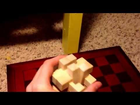 how to put a 8 piece puzzle ring back together