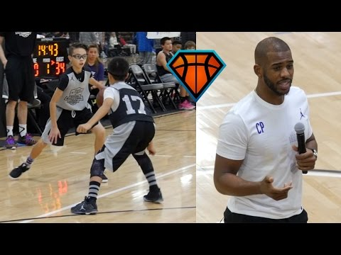 NBA Superstar Chris Paul Gives Advice to 7th Grader on How to Respond to Getting Crossed!!