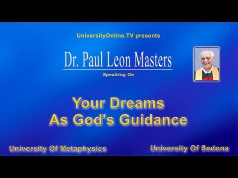 Your Dreams As God's Guidance
