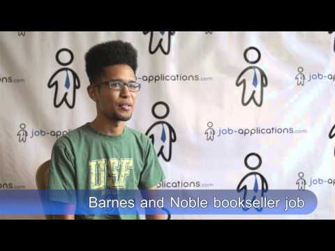 Barnes & Noble Interview - Bookseller