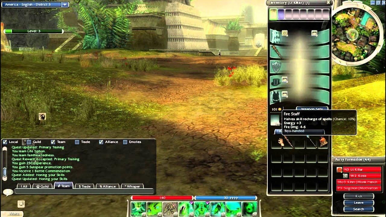 Guild Wars: Nightfall Walkthrough Part 1- The Beginning