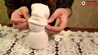 Видеоурок: как сделать новогодний декор или подарок своими руками