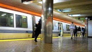 BART Powell Street Station San Francisco California Bay Area Rapid Transit
