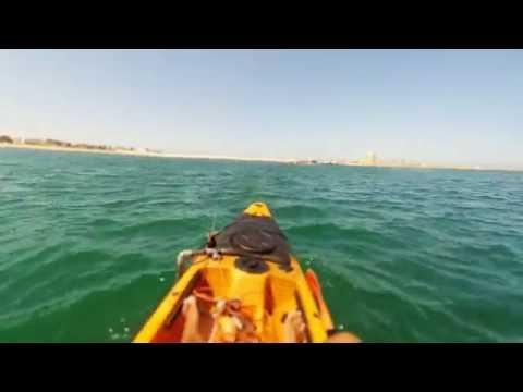 Pêche en kayak (Mohammedia - Maroc 11 09 2016)