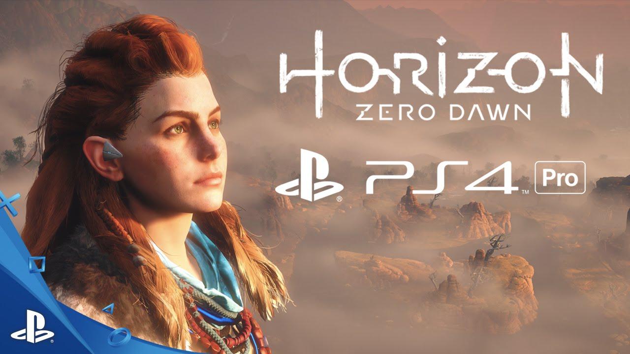 Resultado de imagen para ps4 pro game horizon