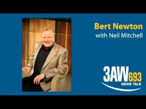 Bert Newton with Neil Mitchell