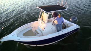 21 Foot Center Console Fishing Boat by Stiper Boats