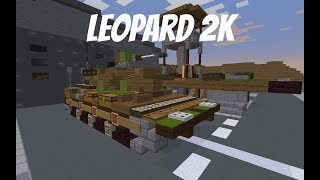 Minecraft Cold War Build Tutorial: Leopard 2K