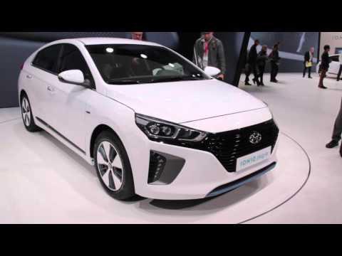 2017 Hyundai Ioniq First Look - 2016 Geneva Motor Show