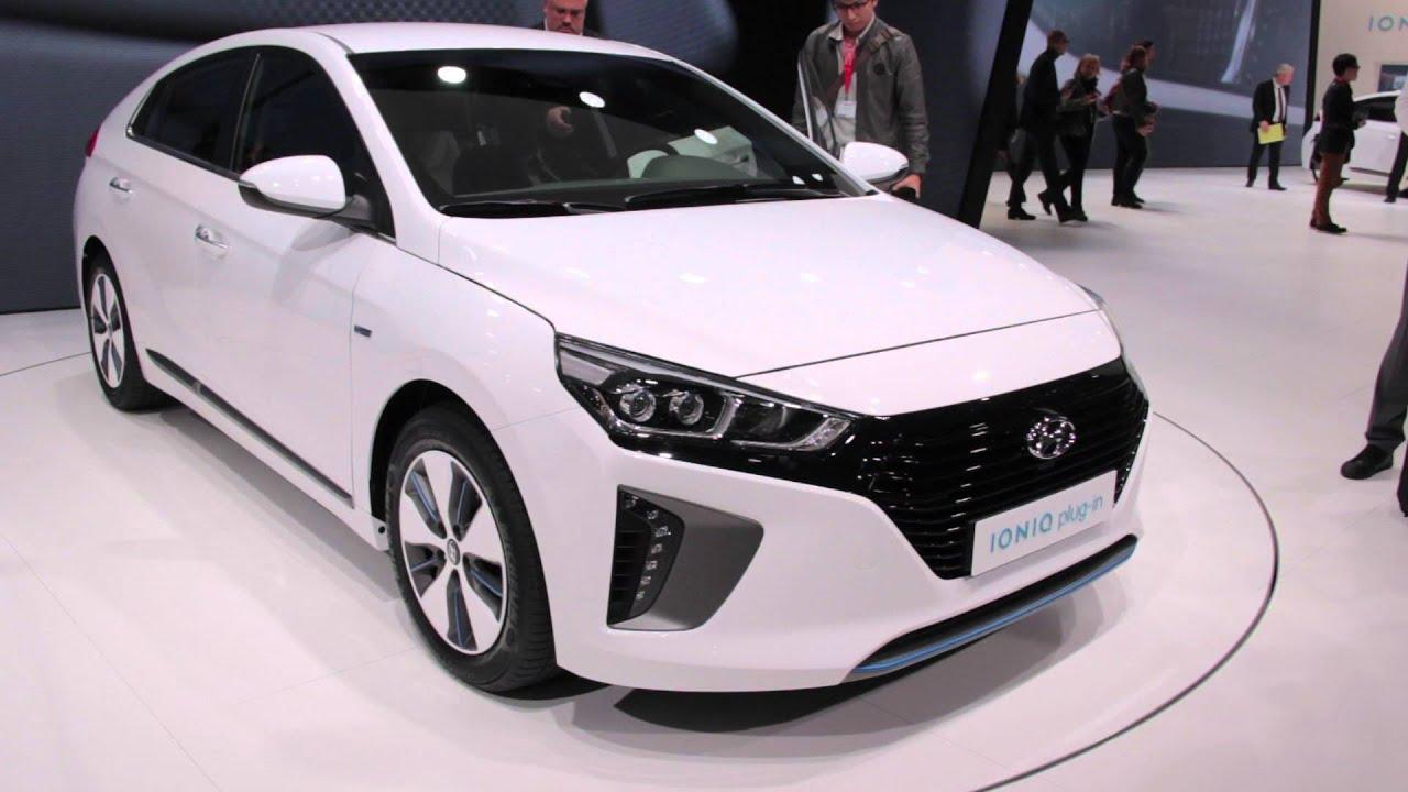 Model 2017 Hyundai Ioniq First Look  2016 Geneva Motor Show