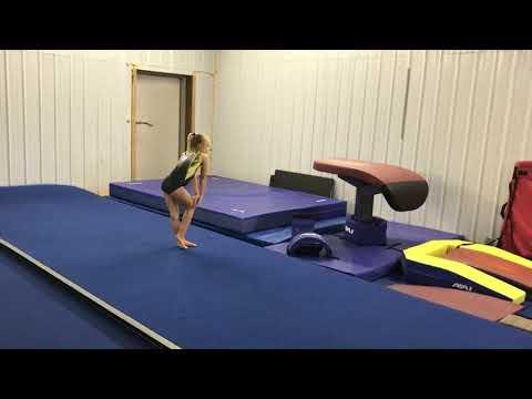 2019 Xcel Bronze Floor Routine - TNT Gymnastics, LLC.