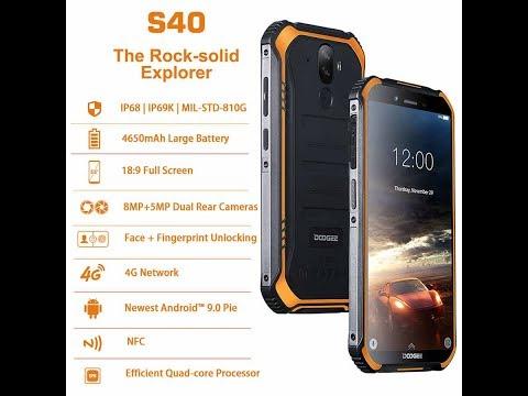 Doogee S40 - обзор лучшего бюджетного защищенного смартфона с NFC