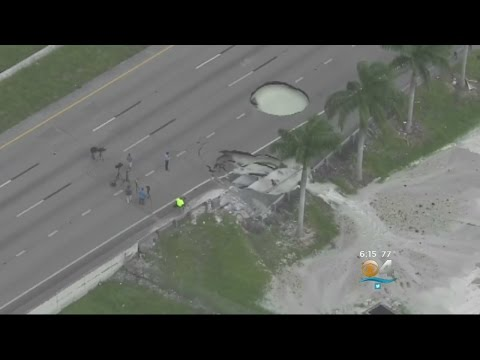 FIU Professor On Turnpike Holes: Miami-Dade's Infrastructure Gets D+