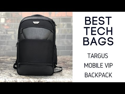 Targus Mobile ViP Checkpoint Friendly Backpack - Comfortable and Stylish 24L Tech Bag