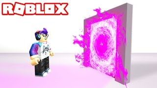 Where does the SECRET Roblox portal go!?!