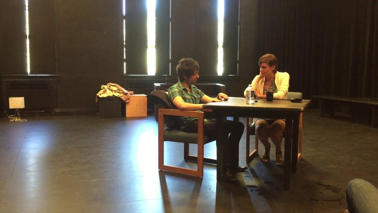 Becky Shaw: Stanford University Acting Class Scene starring Nir Regev (Max)  & Mariya C (Becky)