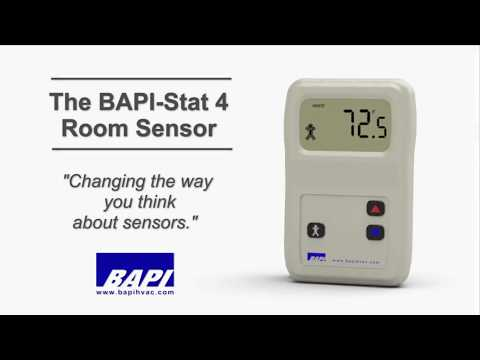 BAPI Stat 4 Room Sensor Overview