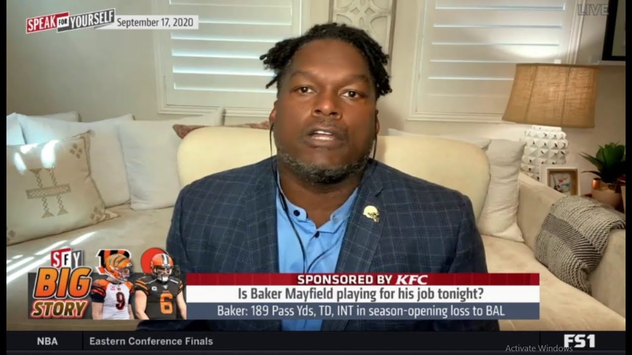 "Speak For Yourself | LaVar Arrington ""backlash"" Is Baker Mayfield playing for his job tonight?"