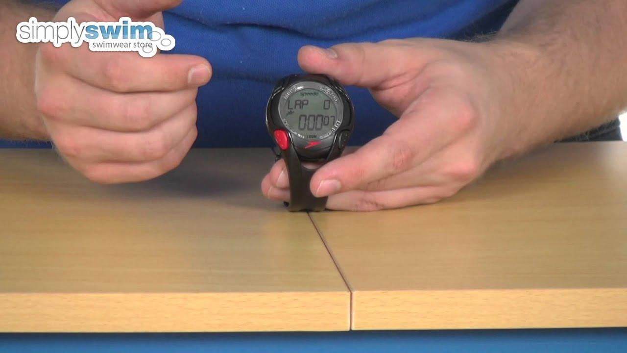 imágenes detalladas gran venta nueva colección Speedo Aquacoach Watch - www.simplyswim.com