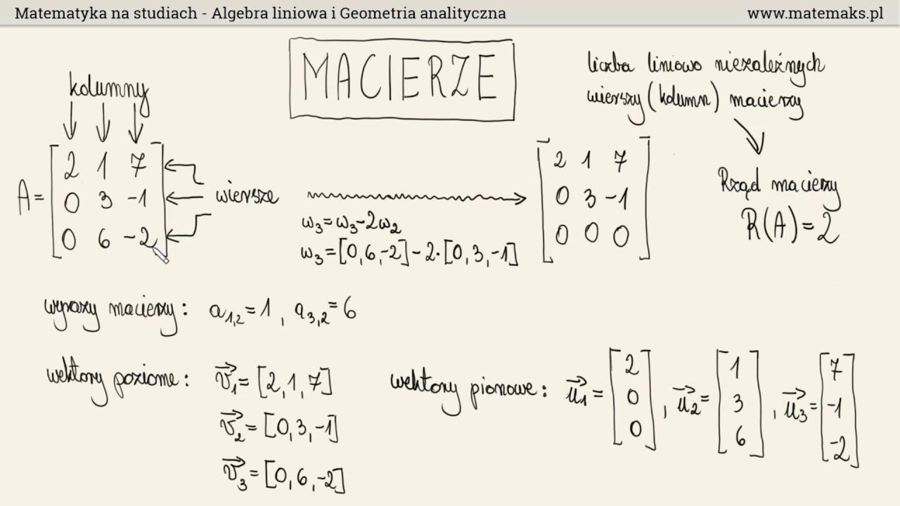 Matematyka Na Studiach Jak Wygląda Czego Będziemy Się Uczyć