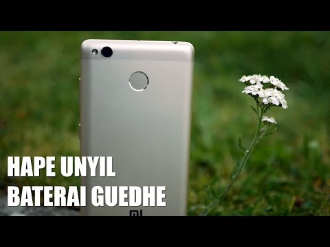 Unboxing & Initial Review Redmi 3s Indonesia