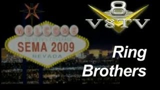 SEMA 2009 Video Coverage Ring Brothers Afterburner Fairlane - V8TV