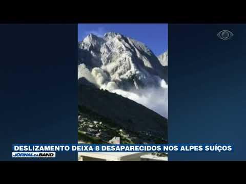 Deslizamento Deixa Oito Desaparecidos Nos Alpes Suíços