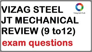 vizag steel JT mechanical paper review