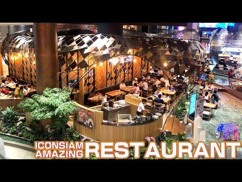 Amazing Restaurant floor / ICONSIAM