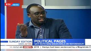 Political pages: Call for referendum   SUNDAY EDITION