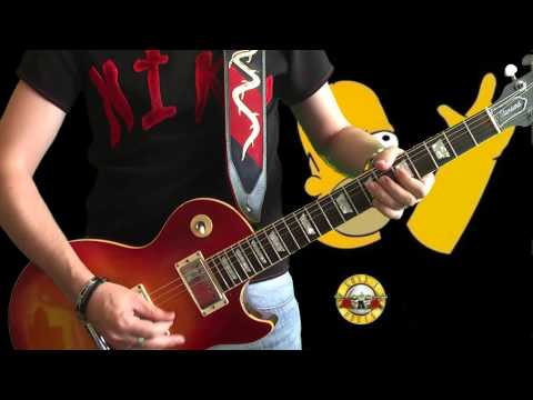 Slash - Rocket Queen Live in Stoke (solo cover)