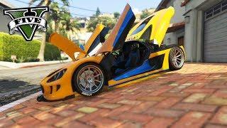 O Mais novo carro do Game GTA 5 Totalmente personalizado!! ○ Minhas...