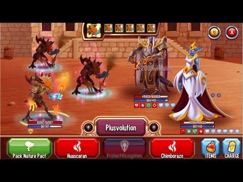Monster Legends - Nemesis Nadiel The Pyromancer level 1-130 review combat Good Monster
