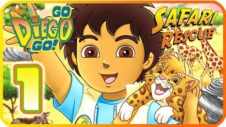 Go, Diego, Go! Safari Rescue Part 1 (Wii, PS2) Saving the Ostrich