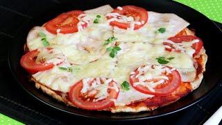 PIZZA aus der PFANNE | One Pan Pizza