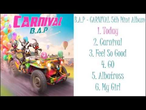 B.A.P - CARNIVAL (5th mini album) (full album)