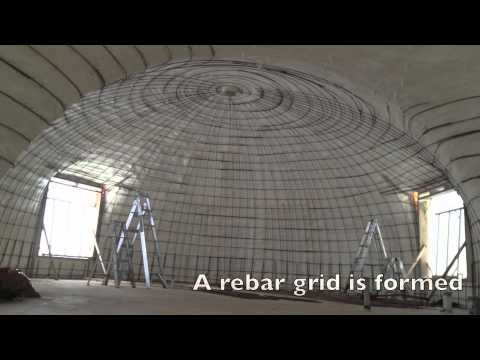 Monolithic Dome Construction Process