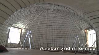 Monolithic Dome Construction Process