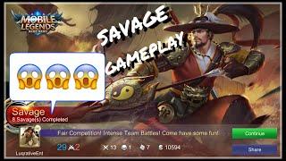 Mobile Legends : Yi Sun-Shin Rank Match SAVAGE