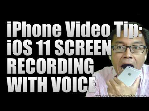 iPhone Video Tip: iOS Screen Recording with Voice