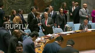 LIVE: UNSC meets on Afghanistan