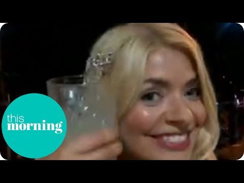 Holly Willoughby Speaks Live to Phillip & Rochelle From the I'm a Celeb Wrap Party | This Morning