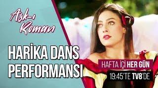 Solmazdan Harika Dans Performansı - Aşk ı Roman 8. Bölüm