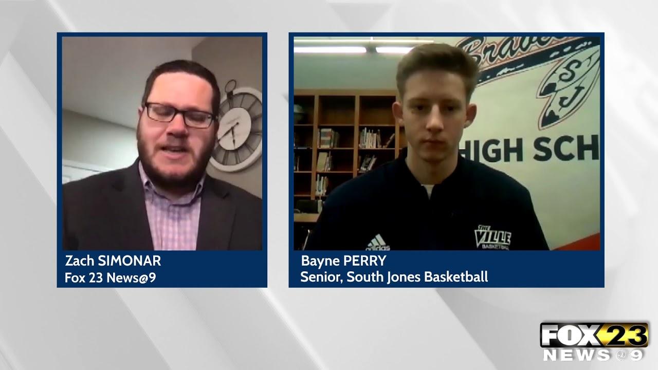 South Jones H.S. basketball player talks hoops amid pandemic