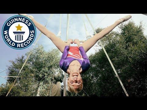 Betty Goedhart: Oldest trapeze artist - Guinness World Records
