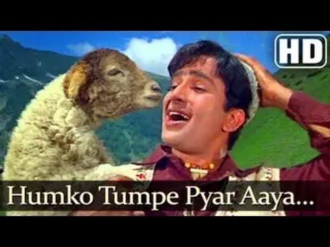 Jab Jab Phool Khile - Hum Ko Tum Pe Pyar Aaya - Mohd Rafi - Bollywood Hit Songs