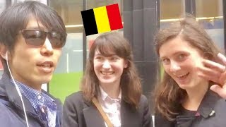 """Picking Up Girls in Brussels ブリュッセルで""""お誘い""""(口説き)[In Day Time 中心街にの日中」 thumbnail"""