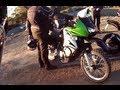 Kawasaki KLR650 Test Ride! I Steal ScooterHoon's Bike!