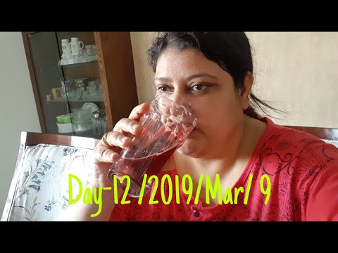 Day-12 weight loss challenge/hindi vlog/ little change in diet..