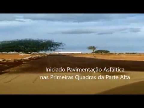 Loteamento Lagoa Seca 3 - Início Pavimentação Asfáltica